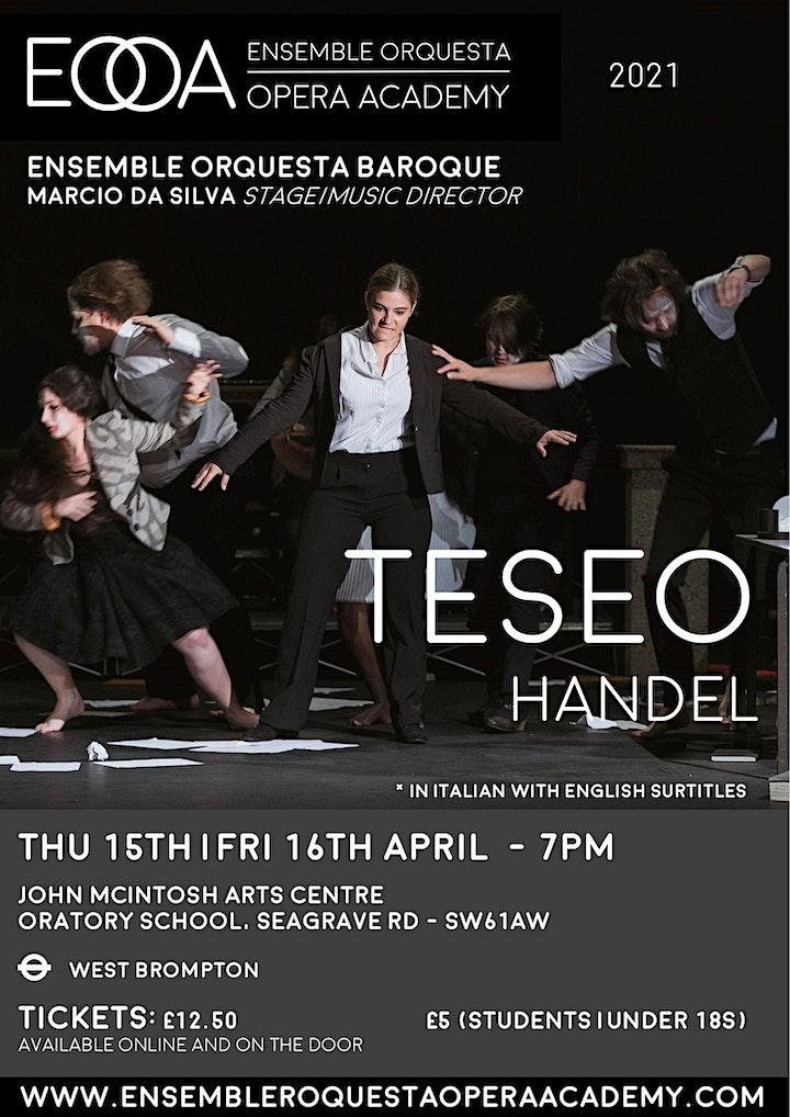 EOrQ Opera Academy   Handel • Teseo image