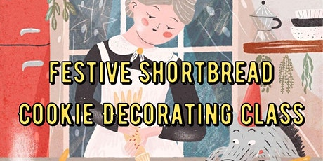 Festive Shortbread Cookie Decorating Class tickets