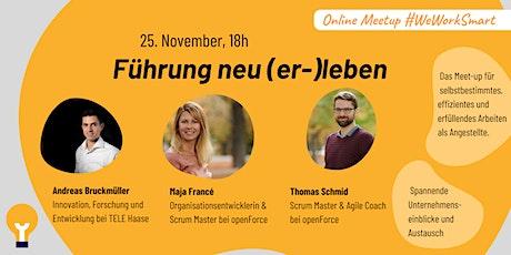 WeWorkSmart Online Event - Führung neu (er-)leben tickets