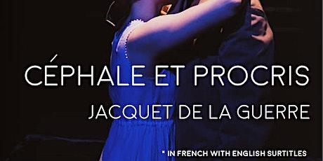 EOrQ Opera Academy | Jacquet De La Guerre • Céphale et Procris tickets
