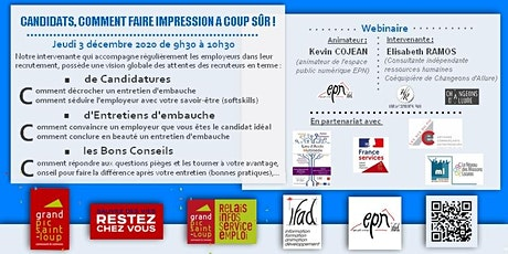 Candidats : Comment faire impression à coup sûr! tickets