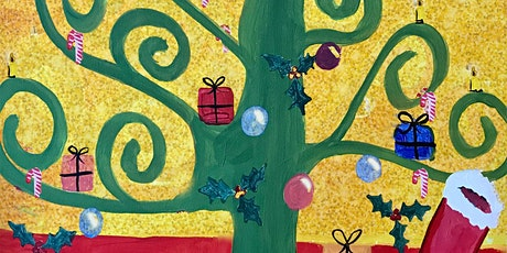 Online Event - Paint Christmas Klimt! tickets