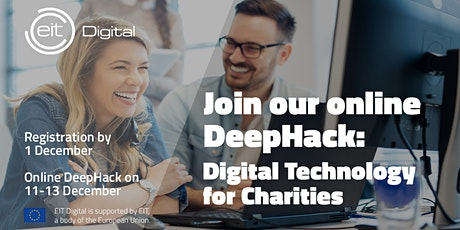 Digital Technology for Charities DeepHack tickets