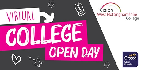 West Notts College Virtual Open Day tickets