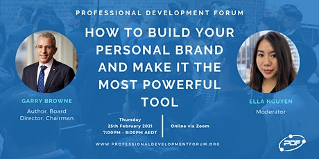 How To Build Your Personal Brand and Make It The Most Powerful Tool tickets