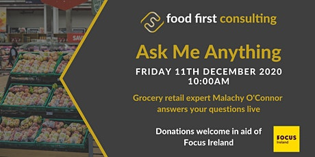 Ask Me Anything - 11th December 2020 tickets