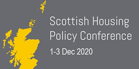Scottish Housing Policies after Covid: Challenges and Constraints to 2025 tickets