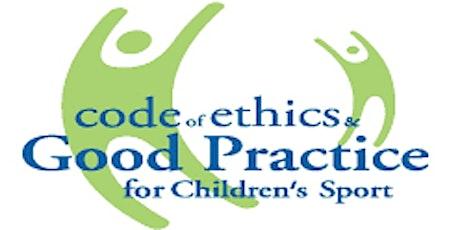 Safeguarding 1Child Welfare & Protection in Sport ONLINE Workshop tickets