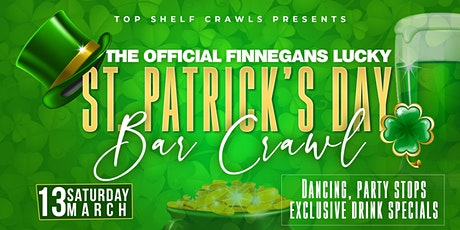 Finnegan's St. Patricks  Bar Crawl - Greenville tickets