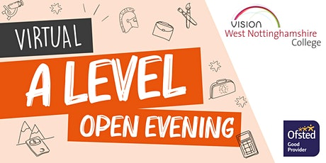 West Notts College Virtual A Level Open Evening tickets