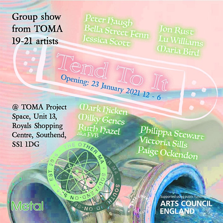Tend To It : a group show from TOMA 2019-2021 artists image