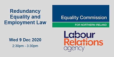 WEBINAR: REDUNDANCY - EQUALITY AND EMPLOYMENT LAW tickets