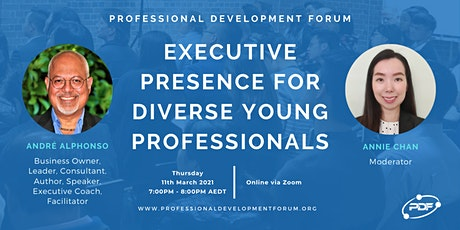 Executive Presence for Diverse Young Professionals tickets