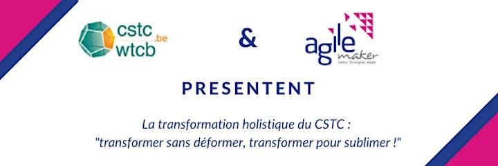 Image pour AGILEmaker conference cycle: La transformation holistique du CSTC