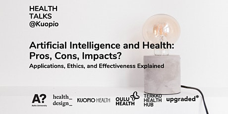 Artificial Intelligence and Health: Pros, Cons, Impacts? - Health Talks tickets