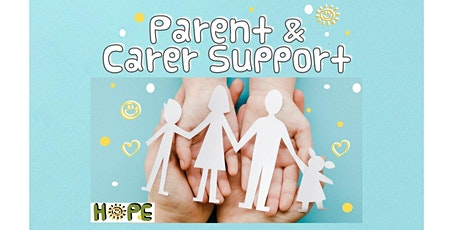Parent  & Carer Support for Stone & South Staffordshire  HOPE Schools-5Jan tickets