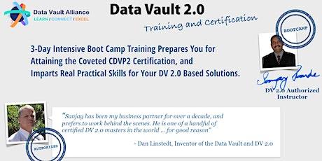 Certified Data Vault 2.0 Practitioner -(Jan 18-20)- Instructor-Led Online tickets