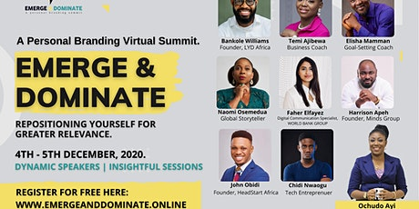Emerge and Dominate: Repositioning Yourself for Greater Opportunity in 2020 tickets