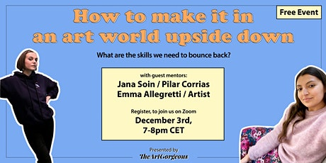 How to make it in an art world upside down tickets
