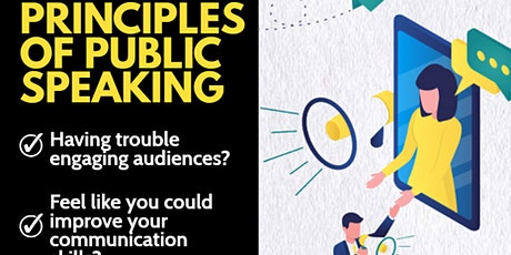 Principles of Public Speaking - Online tickets