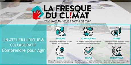 Atelier La Fresque du Climat par Laëtitia et Olivier (en ligne) billets