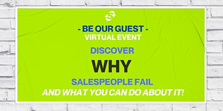 Why Salespeople Fail and What You Can Do About It tickets