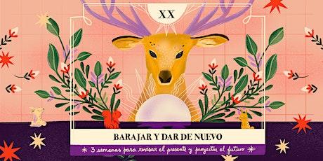 Barajar y dar de nuevo  (martes 8, 15 y 22 de diciembre, 8 a 9 am Arg) entradas