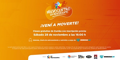 Nuevocentro en Movimiento - 28 de Noviembre tickets