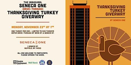 Seneca One Thanksgiving Turkey Giveaway tickets