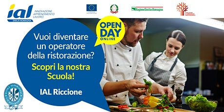 Open Day online Scuola Alberghiera e di Ristorazione di Riccione biglietti