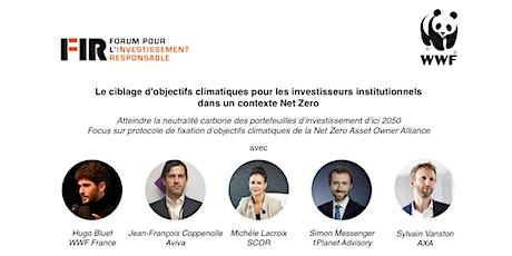 Atteindre la neutralité carbone des portefeuilles d'investissement en 2050 billets