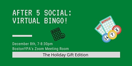 After 5 Social: Virtual Bingo, the Holiday Gift Edition! tickets