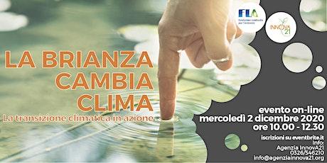 La Brianza Cambia Clima - La transizione climatica in azione biglietti