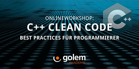 C++ Clean Code –  Best Practices für Programmierer tickets