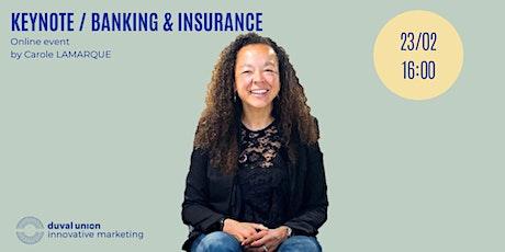 Keynote // Banking & Insurance tickets