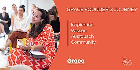 Grace Founder's Journey: Die beste Zeit zu gründen ist JETZT. Tickets