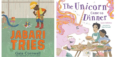Reading with Gaia Cornwall; Moderated by Sophie Lau, Lincoln Head of School tickets