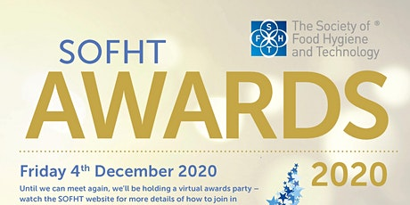 SOFHT Virtual Awards Ceremony 2020 tickets