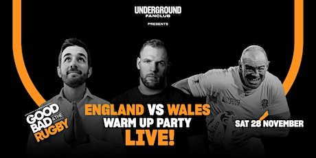 UNDERGROUND FAN CLUB presents The Good, The Bad & The Rugby- Live! tickets