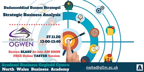 Partneriaeth Ogwen Partnership | Strategic Business Analysis Taster tickets