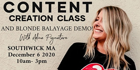 CONTENT CREATION & Triple Threat Balayage Demo tickets