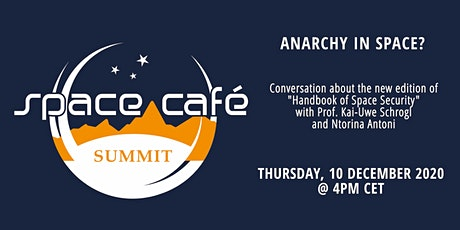 """Space Café  Summit: """"Anarchy in Space?"""" tickets"""