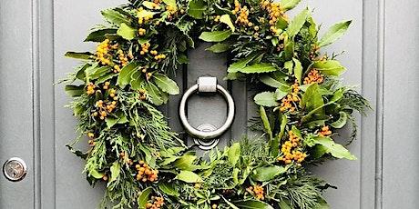 Online Christmas Wreath Making Workshop tickets