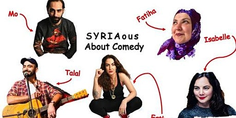 SYRIAous About Comedy tickets