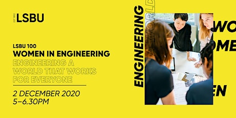 LSBU 100 - Engineering a World That Works For Everyone tickets