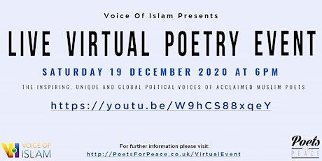 Muslim Poetry tickets