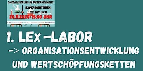 1. LEx-Labor -> Organisationsentwicklung und Wertschöpfungsketten Tickets