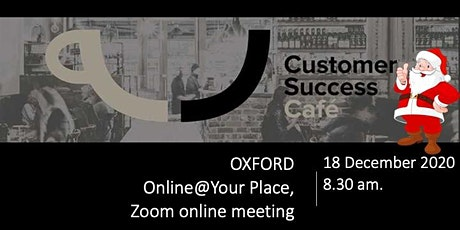 Digital Customer Success Cafe Oxford tickets
