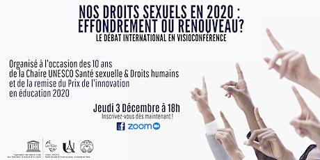 2020 : UNE MENACE POUR NOS DROITS SEXUELS? billets