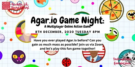 Agar.io Game Night: A Multiplayer Online Action Game tickets